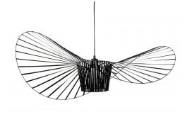 Designerska czarna lampa wisząca Capello - różne rozmiary