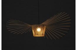 Designerska lampa wisząca Capelo coffee 100  / 140 cm