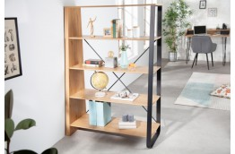 Regał w stylu industrialnym Studio 110x154 cm