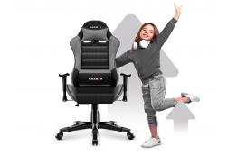Fotel gamingowy dla dzieci Ranger 6.0 / Szaro Czarny