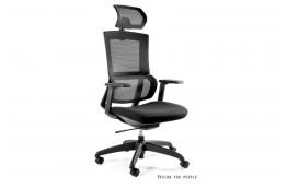 Czarny fotel biurowy Elegance