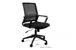 Czarny fotel biurowy Play