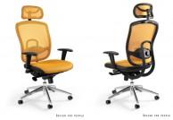 Ergonomiczny fotel biurowy VIP - 8 kolorów, fotele biurowe ergonomiczne w ośmiu kolorach