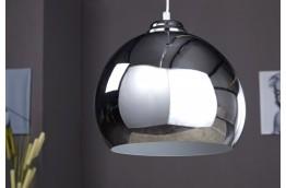 srebrny żyrandol, lampa wisząca Chromagon, oświetlenie do salonu, oświelenie do jadalni , nowoczesny żyrandol srebrny