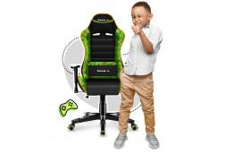 Fotel gamingowy dla dzieci Ranger 6.0 Pixel Mesh - zielony