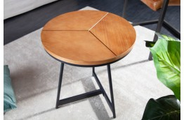 Okrągły stolik kawowy Elegant 45 cm, mały stolik do salonu 45 cm