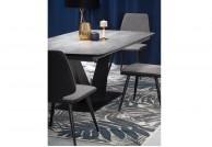 stół prostokątny , stół szary , stół nowoczesny , stół do salonu , stół do mieszkania , stół do gabinetu , stół do jadalni