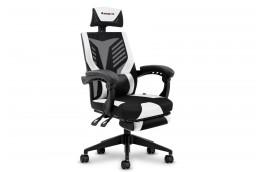 Fotel gamingowy dla gracza Combat 4.2 Czarny + Biały