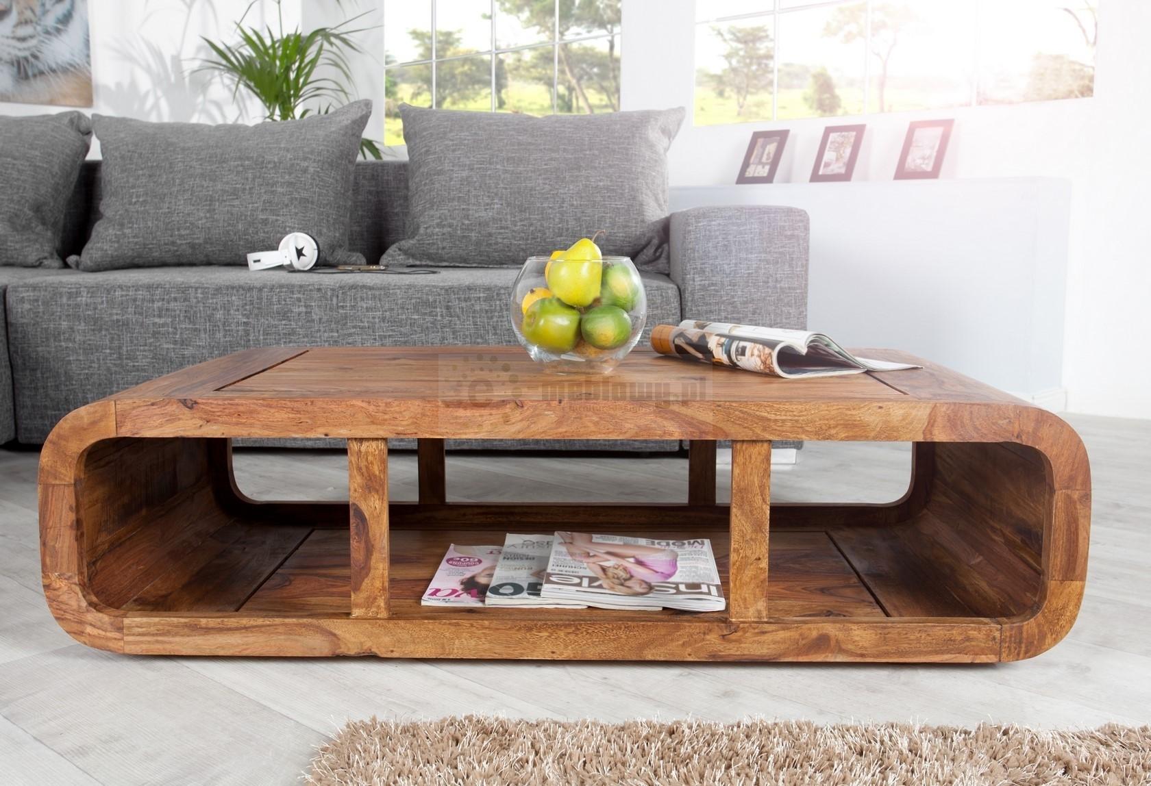 Stolik kawowy pol awa kawowa stolik do salonu drewniany for Table de salon alinea