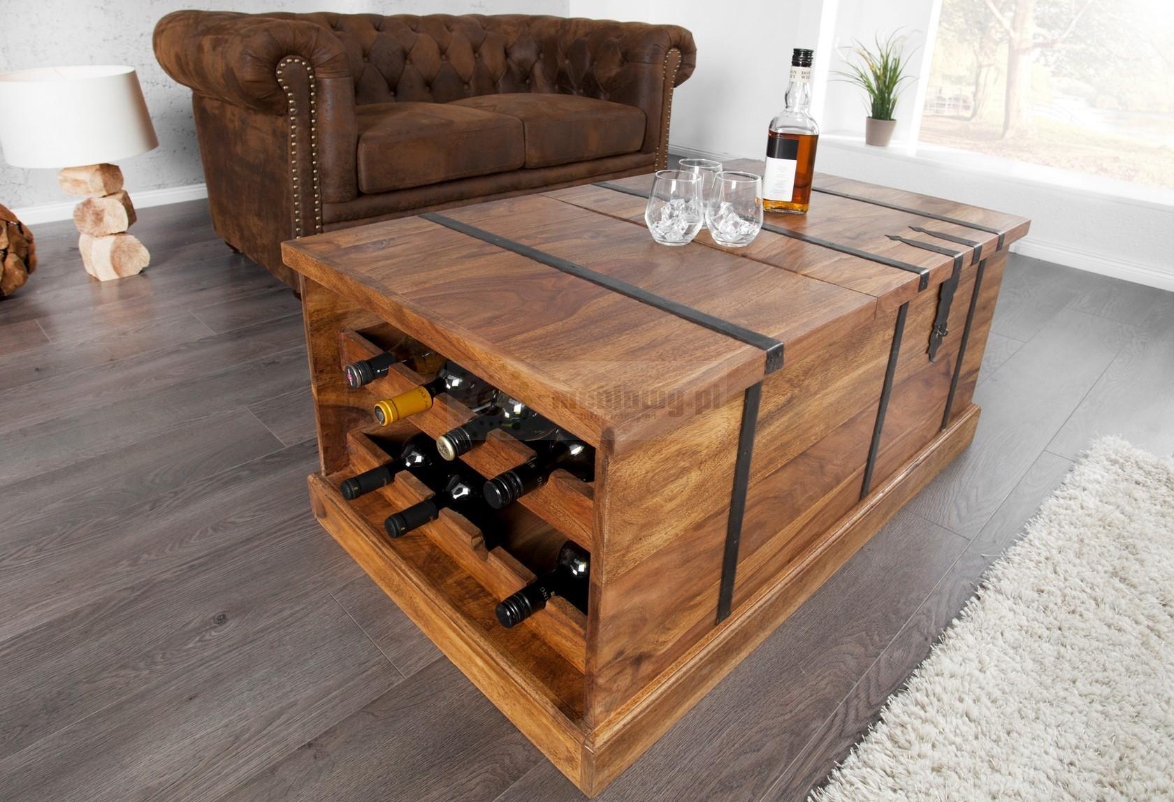 drewniany stolik kawowy box drewniana awa drewniany barek do salonu. Black Bedroom Furniture Sets. Home Design Ideas