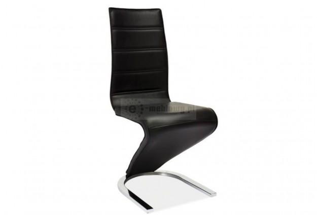 krzesło, krzesła, krzesło do jadalni, krzesło do salonu, krzesło ekoskóra,szary, chromowane,