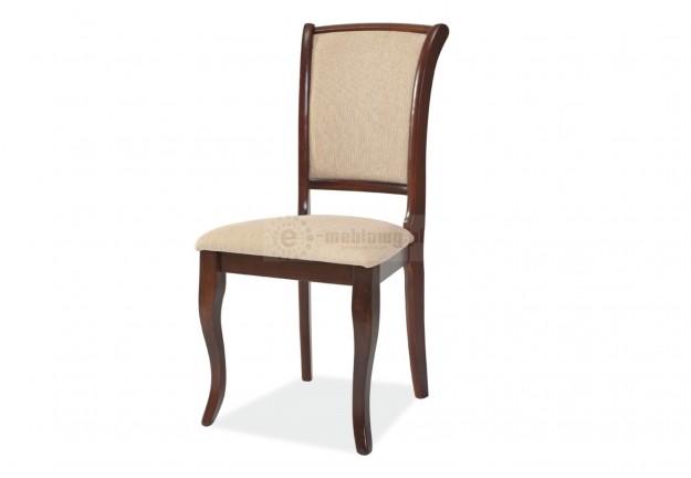 krzesło, krzesła, krzesło do jadalni, krzesło do salonu, krzesło drewniane, ciemny orzech