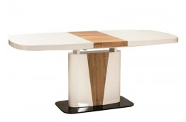 stoły nowoczesne, stoły do jadalni, stół biały połysk, stół do kuchni, dąb sonoma