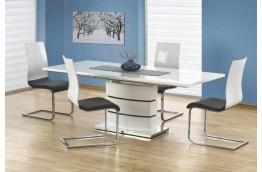stół-do-salonu,stół-rozkładany,stół-nowoczesny,stół-biały-połysk,stół-lakierowany,stół-marmara