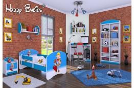 meble do pokoju dziecięcego, łóżko dla dziecka, łóżko dla chłopca, łóżko dziecięce bob budowniczy