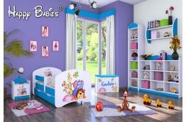 meble do pokoju dziecięcego, łóżko dla dziecka, łóżko dla dziewczynki, łóżko dziecięce safari, białe łóżko dla dziewczynki.