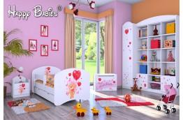 Łóżko dla dziecka Miś z balonami140/70