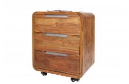 Drewniany kontener biurowy