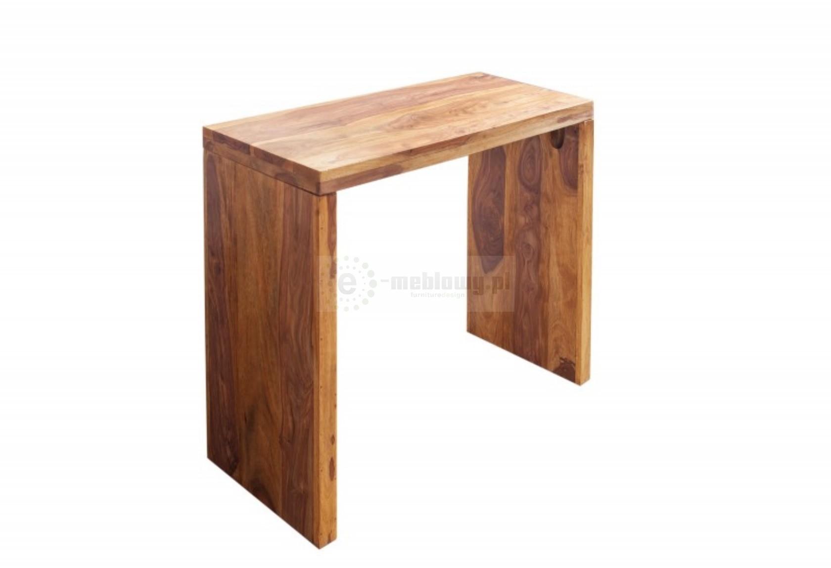 Drewniane biurko biurko 100cm biurka eleganckie biurka for Schreibtisch klein design