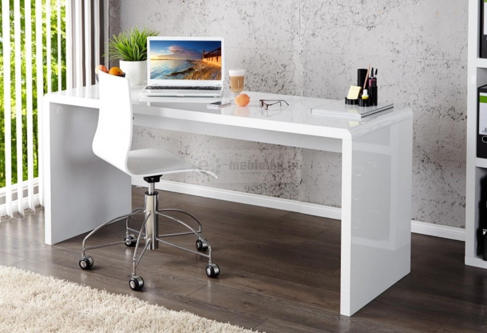 Nowoczesne biurko biurko biurka meble biurowe bia e - Bureau largeur 50 cm ...