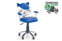 fotel tom,fotele obrotowe dla dzieci,krzesło do komputera tom, zielony, niebieski