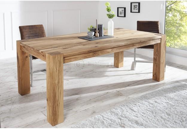 Stół Drewnianyrozkładany Salak Naturalne Drewno Nowoczesny Stół Do