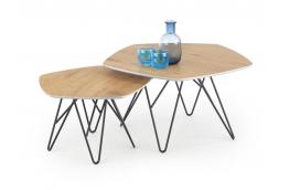 zestaw dwóch ław, stoliki kawowe, ławy do salonu, nowoczesne stoliki kawowe