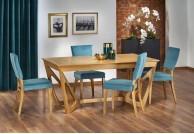 krzesło, krzesła, krzesło do jadalni, krzesło do salonu, krzesło tkanina,krzesło dąb miodowy