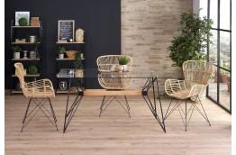 stół szklany allegro, nowoczesne stoły, stół do salonu, szklany stół do salonu