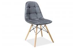 krzesła nowoczesne, krzesła z aksamitu w stylu skandynawskim, lekkie krzesła