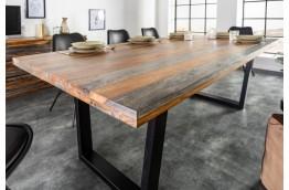 stół drewniany fire & earth, stoły drewniane, stoły do salonu,drewniane stoły