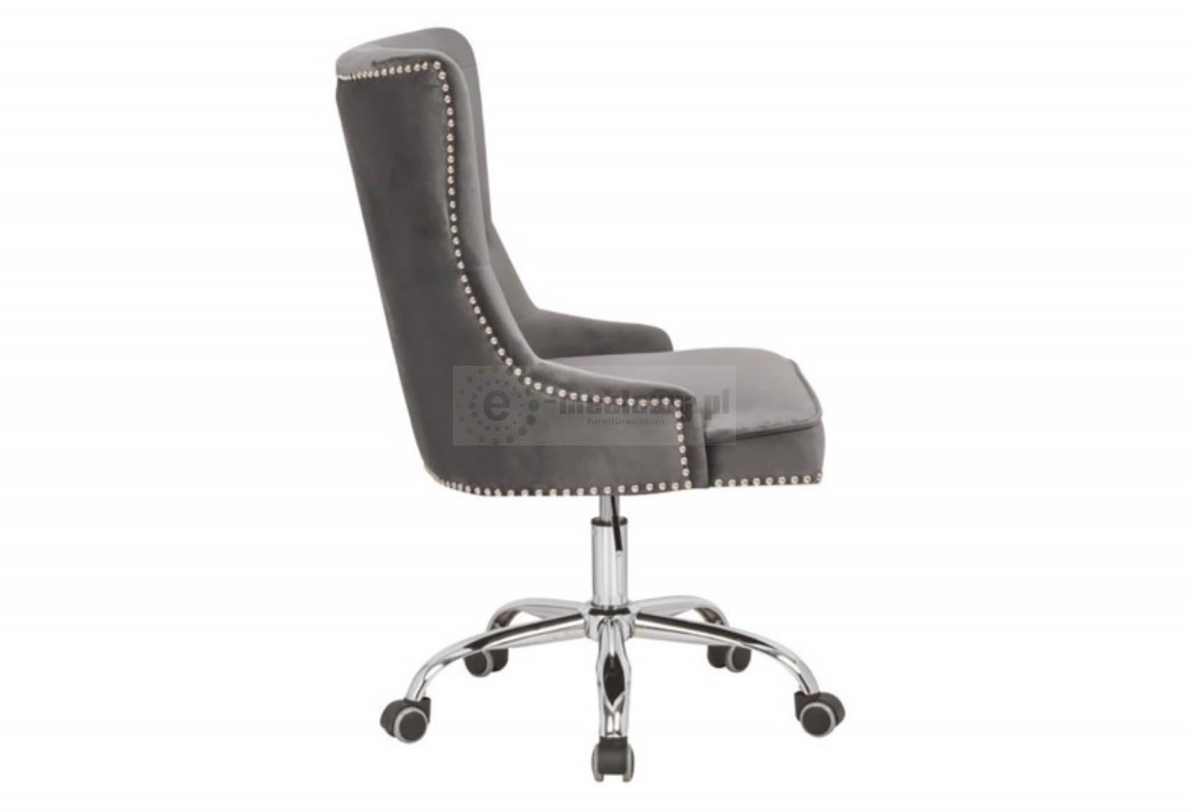 Fotel obrotowy, krzesło do biura, krzesło biurowe z aksamitu