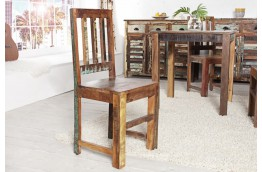 krzesła z drewna z recyklingu Ficus, krzesło z drewna Ficus,krzesło z drewna z odzysku Ficus