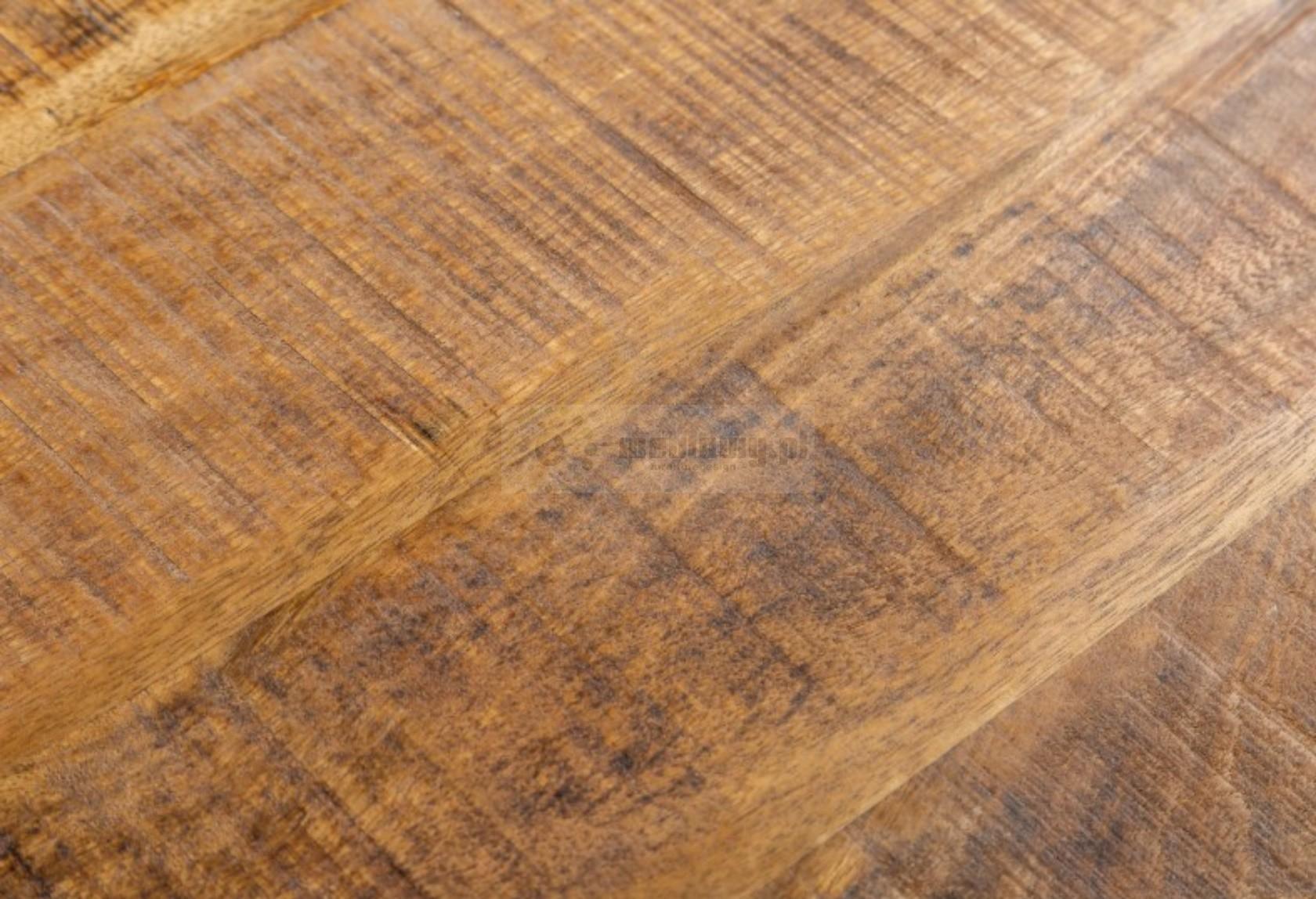 Stolik kawowy z drewna mango Long Island, ława kawowa