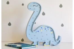 Lampka do pokoju dziecka diplodok, lampka dinozaur, lampki dla dzieci
