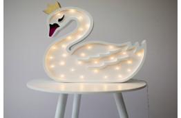 Lampka dla dziecka Łabędź