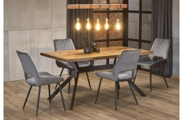 Stół do jadalni w okleinie naturalnej Tyson