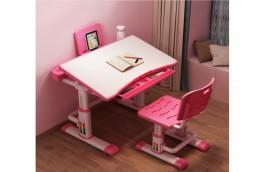 biurko dla dzieci z krzesłem sandy, niebieskie biurko dla chłopca, różowe biurko dla dziewczynk