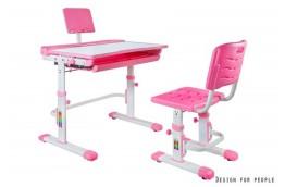 Zestaw - biurko dla dzieci z wysuwaną szufladą Sandy