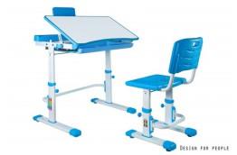 Zestaw - biurko dla dzieci z krzesłem z regulacją wysokości Candy
