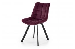 krzesła do jadalni z tkaniny velvet w sześciu kolorach Luca