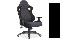 otel_fabio , fotel_obrotowy , fotel_tapicerka , fotel_nowoczesny , fotel_gabinetowy , fotel_szaro_czarny