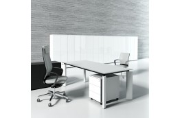 Nowoczesne biurko menagerskie Crystal, biurko menadżerskie Crystal, zestawy mebli biurowych