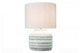 Dekoracyjna, biała lampka stojąca Jenny 47 cm
