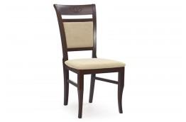 Krzesło z drewna bukowego Jakub - ciemny orzech