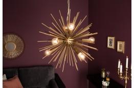 Lampa wisząca złota / żyrandol złoty Starfire