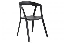 Krzesła z podłokietnikami z polipropylenu Vibia