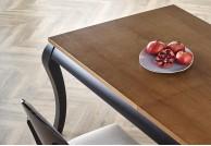 Klasyczny stół rozkładany 160 - 200 cm Windsor, drewniany stół rozkładany windsor