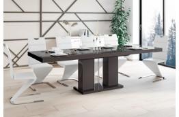 Nowoczesny, rozkładany stół Linosa w połysku, rozkładany stół do jadalni linosa