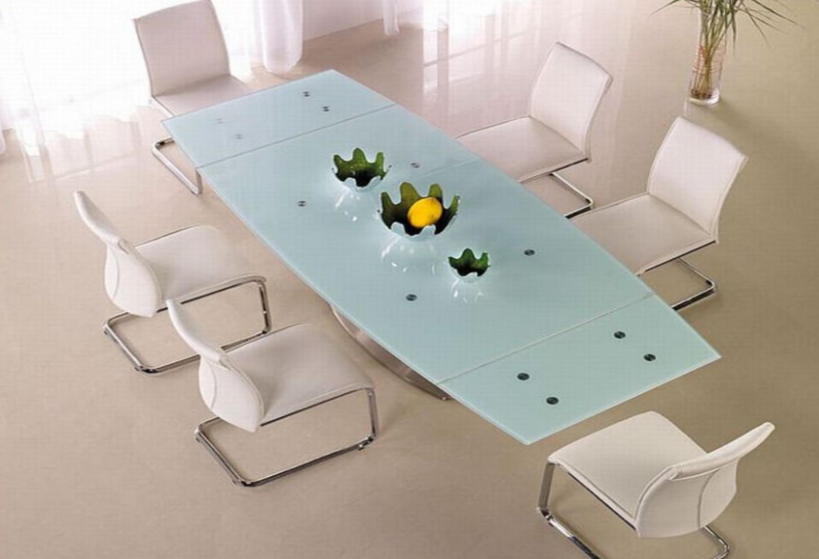 W Mega Stół rozkładany Venus, stół szklany, nowoczesny stół do salonu,stoły IC14